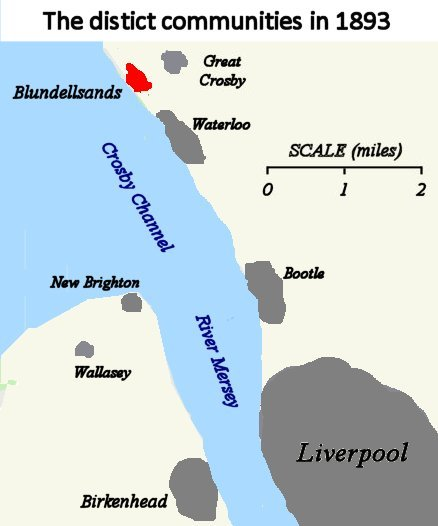 Location of Blundellsands